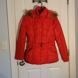 NWOT Rampage XL bright Red Jacket from Macy's